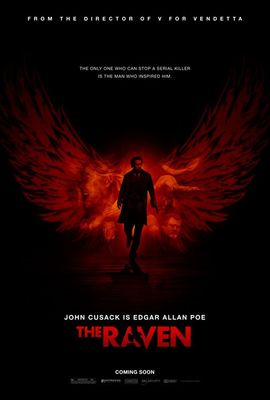 The Raven mini movie poster (John Cusack)