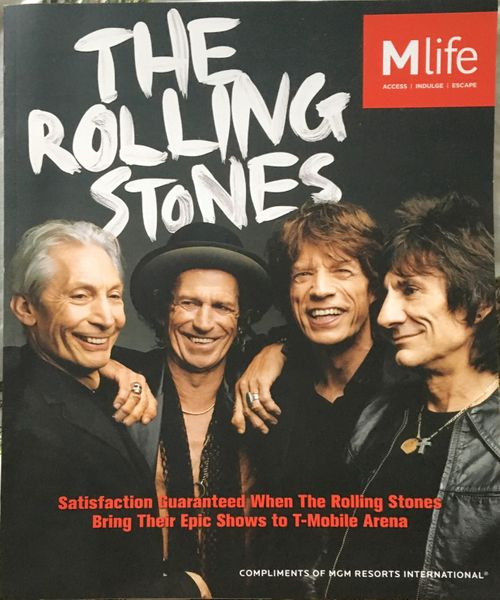 The Rolling Stones Fall 2016 M Life MGM Resorts magazine