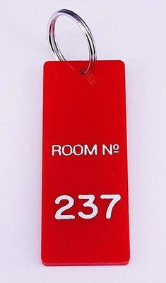 The Shining movie Overlook Hotel Room 237 replica key fob