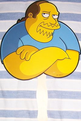 The Simpsons Comic Book Guy 2010 Comic-Con promo fan