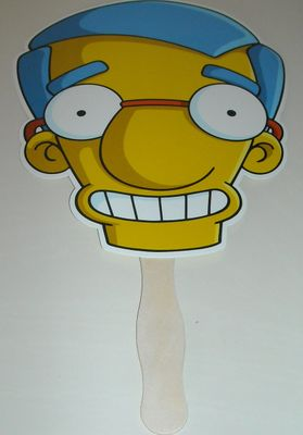 The Simpsons Milhouse 2012 Comic-Con promo fan