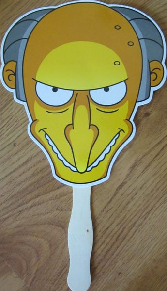 The Simpsons Mr. Burns 2013 Comic-Con promo fan