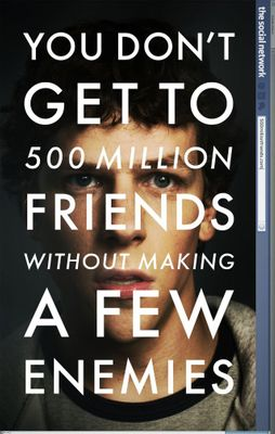 The Social Network mini movie poster (Jesse Eisenberg)
