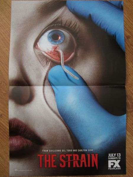 The Strain 2014 Comic-Con Dark Horse Comics mini 11x17 promo foldout poster