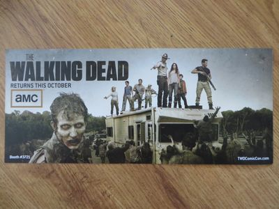 The Walking Dead 2011 Comic-Con 6x14 promo photo card