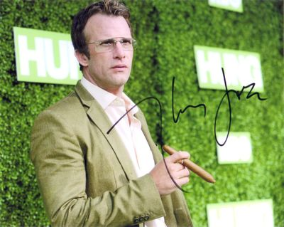 Thomas Jane autographed Hung 8x10 premiere photo