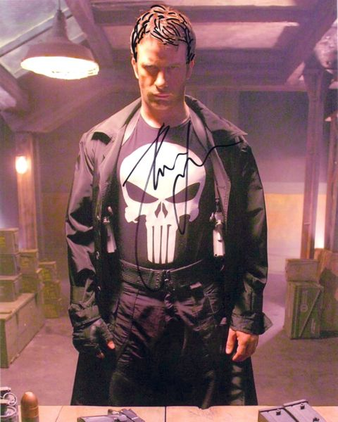 Thomas Jane autographed The Punisher 8x10 movie photo