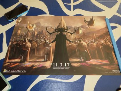 Thor Ragnarok 2016 Comic-Con exclusive Marvel 13x20 mini movie poster
