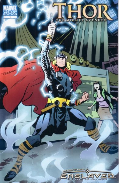 Thor The Mighty Avenger #1 2010 promo comic book