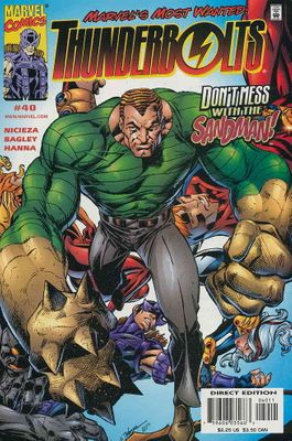 Thunderbolts 2000 Marvel Comics comic book issue #40