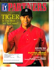 Tiger Woods 1998 & 2005 PGA Tour Partners magazines