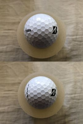 Tiger Woods 2020 Farmers Insurance Open tournament Bridgestone Tour B XS golf ball