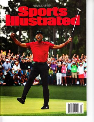 Tiger Woods Wins 2019 Masters Sports Illustrated issue newsstand edition no label PRISTINE