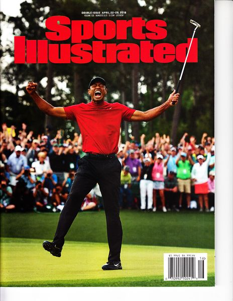Tiger Woods Wins 2019 Masters Sports Illustrated issue newsstand edition PRISTINE
