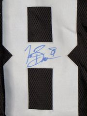 Tim Brown autographed Oakland Raiders black authentic Reebok stitched jersey