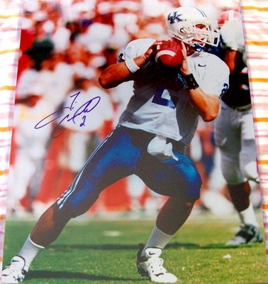 Tim Couch autographed Kentucky Wildcats 16x20 poster size photo