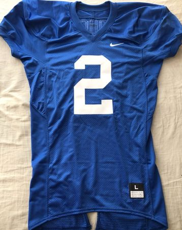 Tim Couch Kentucky Wildcats authentic Nike stitched Pro Cut blue LARGE jersey NEW
