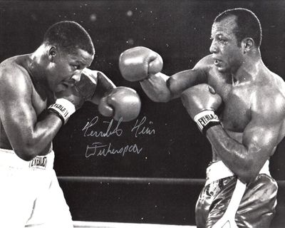 Tim Witherspoon autographed 8x10 boxing photo