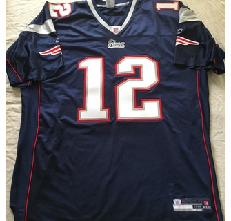sale retailer 3cf15 0904d Tom Brady New England Patriots authentic Reebok game model ...