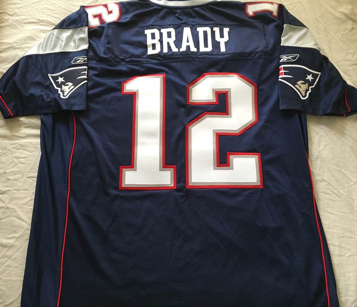 sale retailer ea37f a9d30 Tom Brady New England Patriots authentic Reebok game model ...