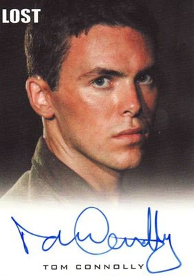 Tom Connolly LOST 2010 Rittenhouse certified autograph card