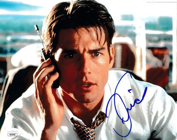 Tom Cruise autographed Jerry Maguire 8x10 movie photo (JSA)