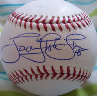 Tom Gordon autographed MLB baseball