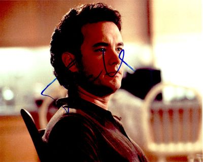 Tom Hanks autographed 8x10 portrait photo