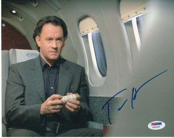 Tom Hanks autographed The Da Vinci Code 8x10 movie photo (PSA/DNA)