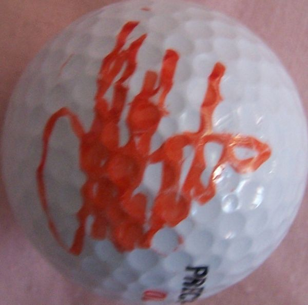Tom Kite autographed golf ball