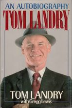 Tom Landry autographed An Autobiography hardcover book