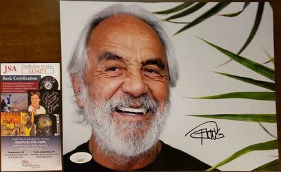 Tommy Chong autographed 8x10 photo (JSA)