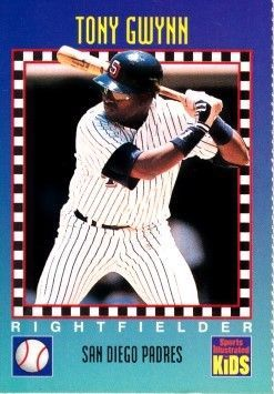 Tony Gwynn San Diego Padres 1994 Sports Illustrated for Kids card
