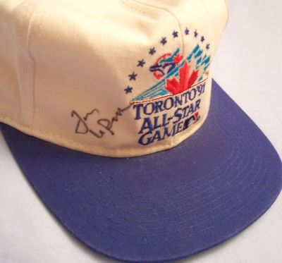 Tony La Russa autographed 1991 All-Star Game cap or hat