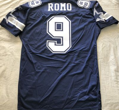 Tony Romo Dallas Cowboys 2007 authentic Reebok team issued stitched navy blue jersey