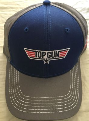 Top Gun movie officially licensed cap or hat with embroidered logo BRAND NEW