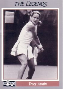 Tracy Austin 1991 Netpro Legends card
