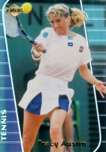 Tracy Austin 2000 Collector's Edge card
