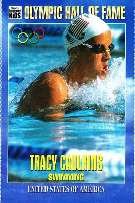 Tracy Caulkins Olympic Hall of Fame 1995 Sports Illustrated for Kids card