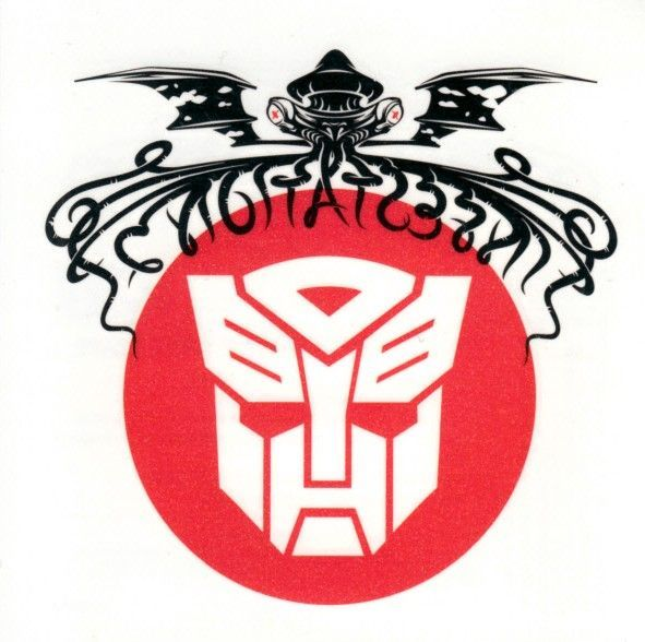 Transformers Infestation 2012 IDW temporary tattoo