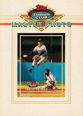 Travis Fryman Detroit Tigers 1993 Stadium Club Master Photo 5x7 card