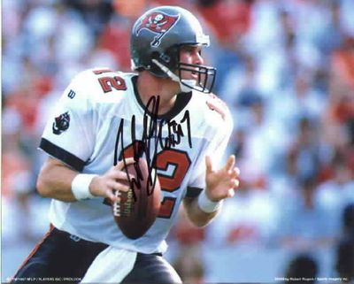 Trent Dilfer autographed Tampa Bay Buccaneers 8x10 photo