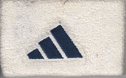 Trevor Gaylor autographed San Diego Chargers practice worn Adidas wristband