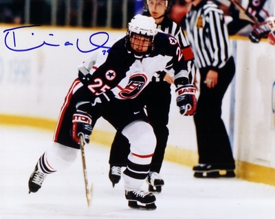 Tricia Dunn autographed 1998 USA Women's Hockey Team 8x10 photo