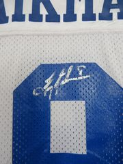 Troy Aikman autographed Dallas Cowboys authentic original Wilson Pro Line home white game model jersey