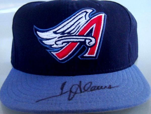 Troy Glaus autographed Anaheim Angels authentic game model cap or hat (Fleer)