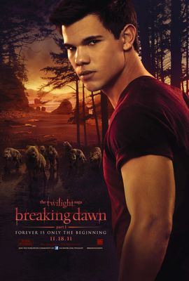 Twilight Breaking Dawn Jacob mini movie poster