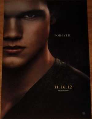 Twilight Breaking Dawn Part 2 2012 Comic-Con Jacob mini 11x17 movie poster