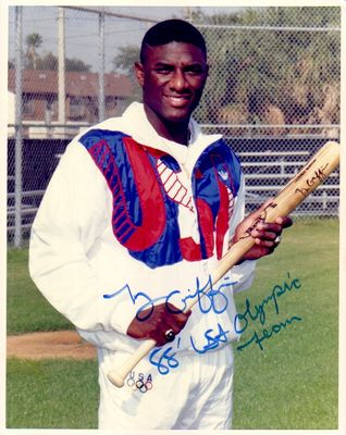 Ty Griffin autographed 1988 USA Olympic Team 8x10 photo