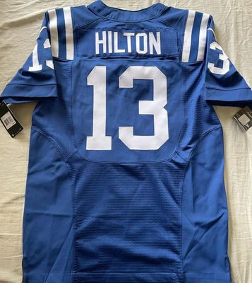 T.Y. Hilton Indianapolis Colts 2017 authentic Nike Elite game model blue jersey NEW WITH TAGS